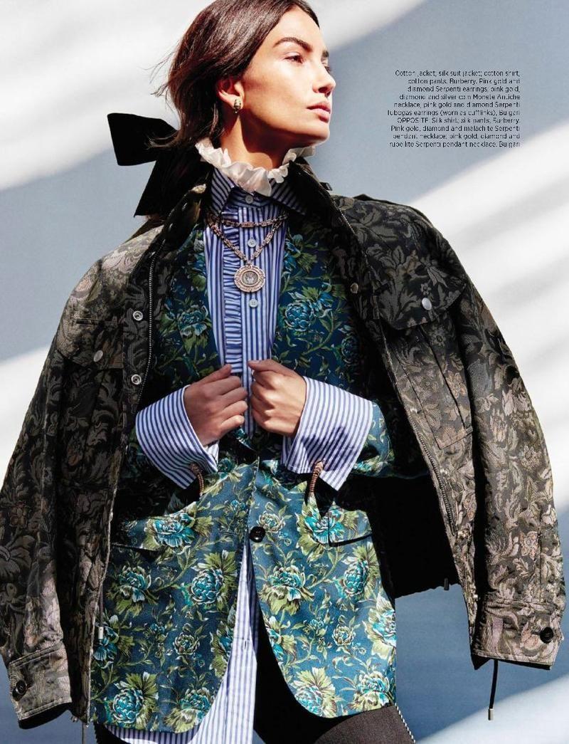 Tomboy Named Lily (Harper's Bazaar Singapore)