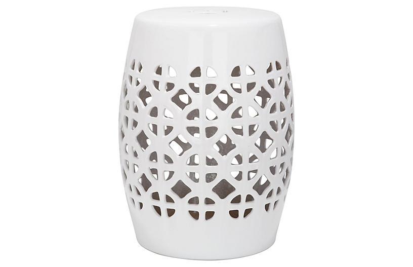 Strange Janera Ceramic Garden Stool White Products Ceramic Ibusinesslaw Wood Chair Design Ideas Ibusinesslaworg