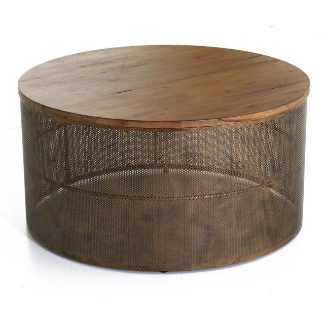Table Basse Mesh En Acier Et Bois Inwood : Prix, Avis & Notation