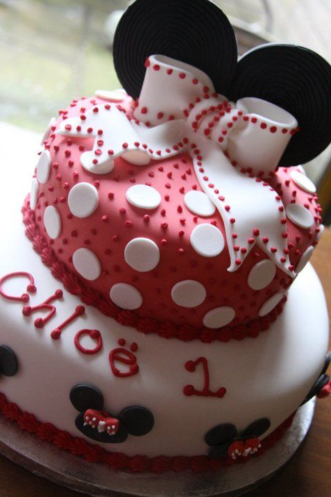 Minnie Mouse Birthday Cake Cakes and Cupcakes for Kids birthday
