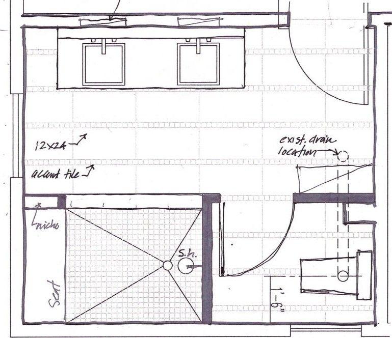 Bathroom Black Dog Design Blog Master Bathroom Plans Bathroom