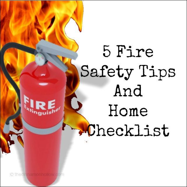 5 fire safety tips and checklist fire safety and safety for House fire safety tips
