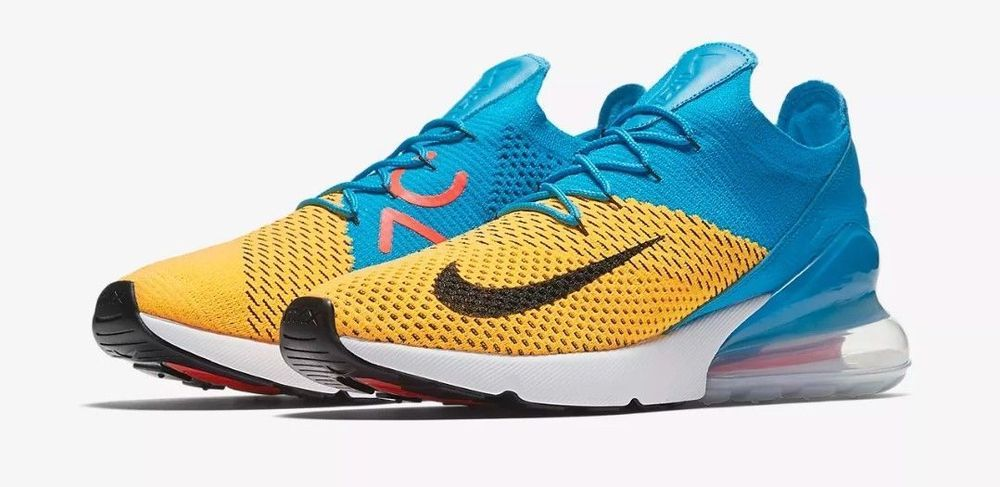 31492599aff2e Mens Nike Air Max 270 Flyknit AO1023-800 Laser Orange Black Brand New Size  11.5  fashion  clothing  shoes  accessories  mensshoes  athleticshoes (ebay  link)