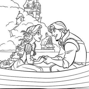 tangled lantern coloring pages coloring pages