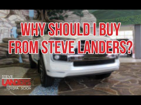 Why Should I Buy From Steve Landers Stevelanderstoyota Com