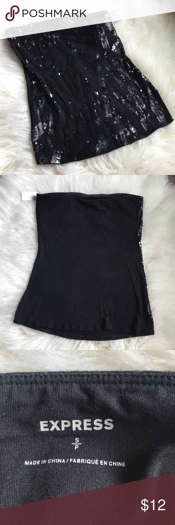 Express Strapless Top! 🖤🖤🖤💋 Strapless top, Tops, Clothes
