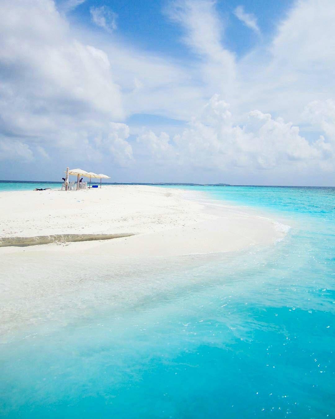 Maldives Beach: The Maldives Islands #Maldives