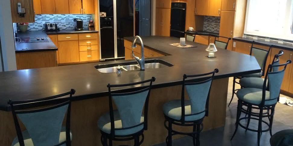 Accomplish A Matte Finish Look With Countertop Epoxy Diy