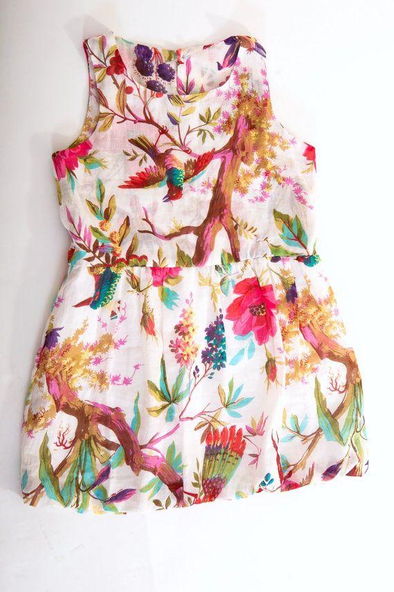 Tropical Balloon Dress Tati Roupa Infantil Menino