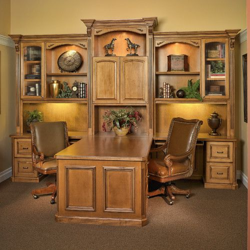 Custom Built Partners Desk Home Office Furniture Home Home Decor