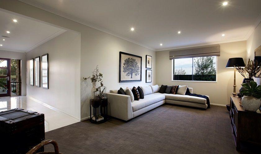 porter davis homes  house design lamont  living room
