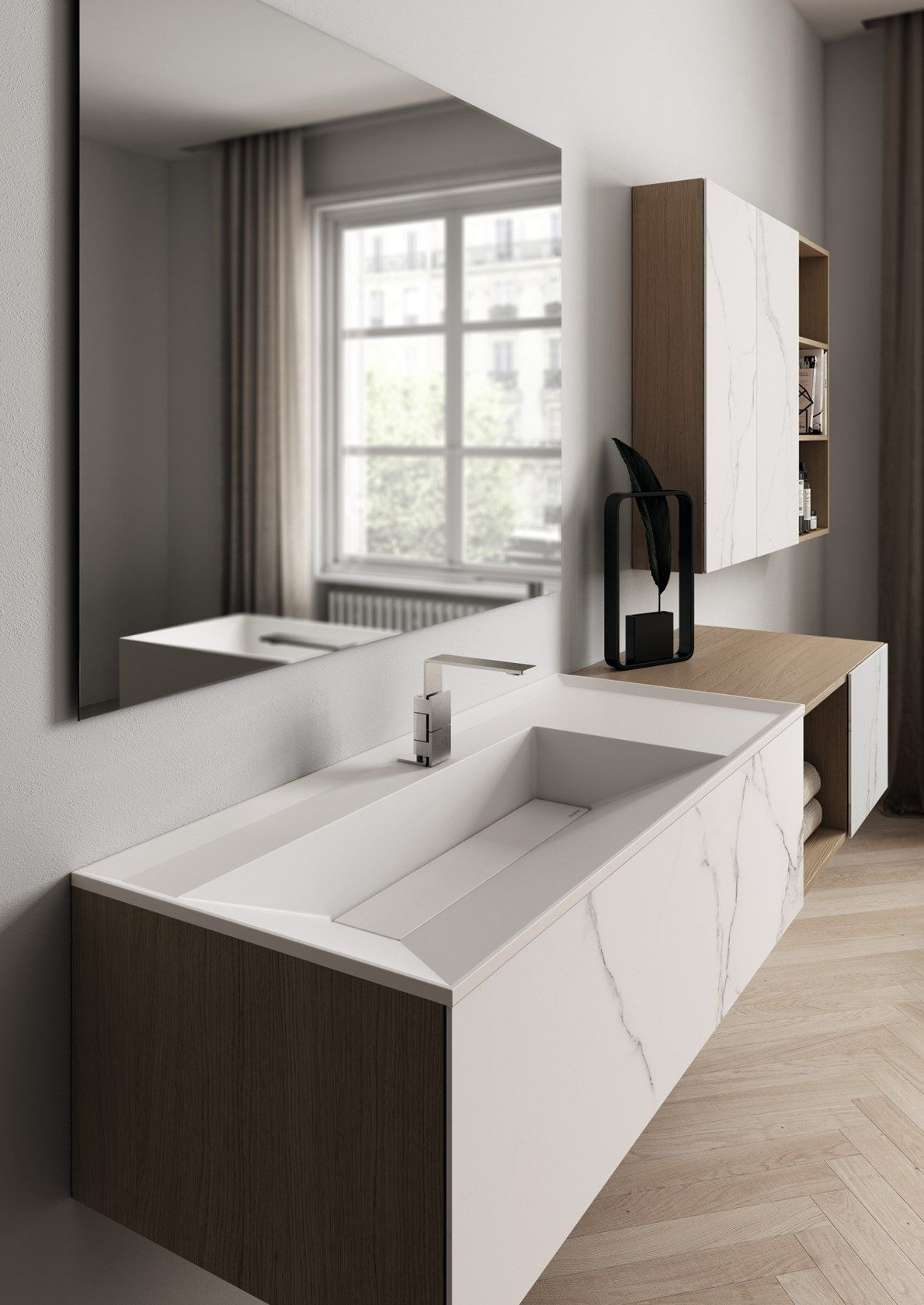 Minimal Bath With Industrial Inspiration Ideagroup Presents Dogma