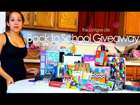 The LaVigne Life Back To School Giveaway 2015!!!
