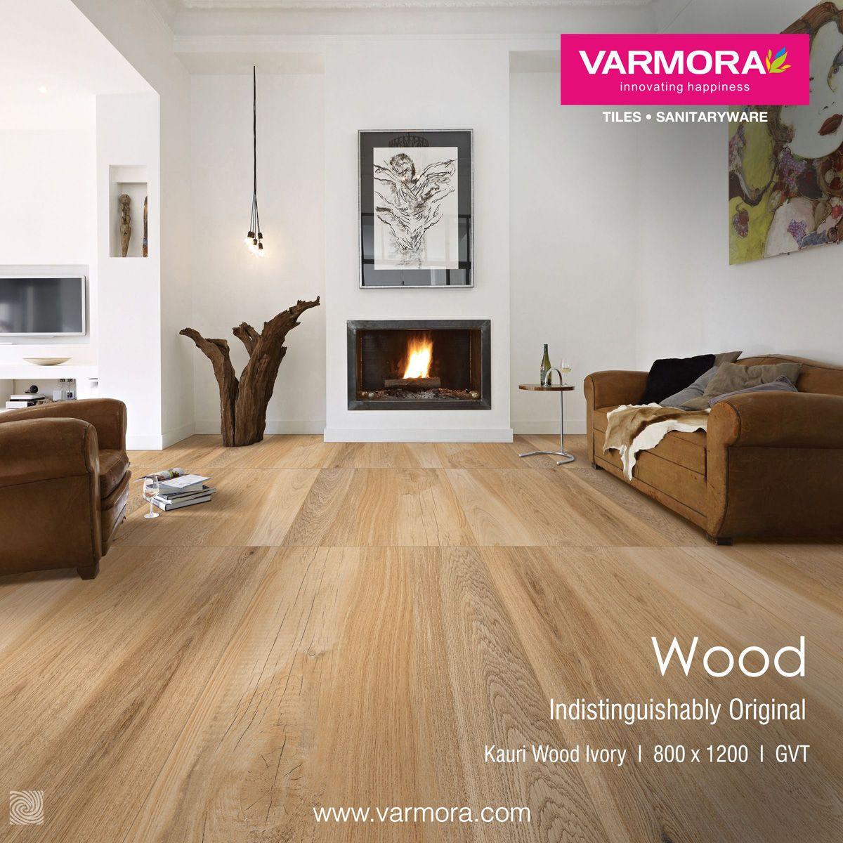 Wood Indistinguishable Original Kauri Wood Ivory Tile From