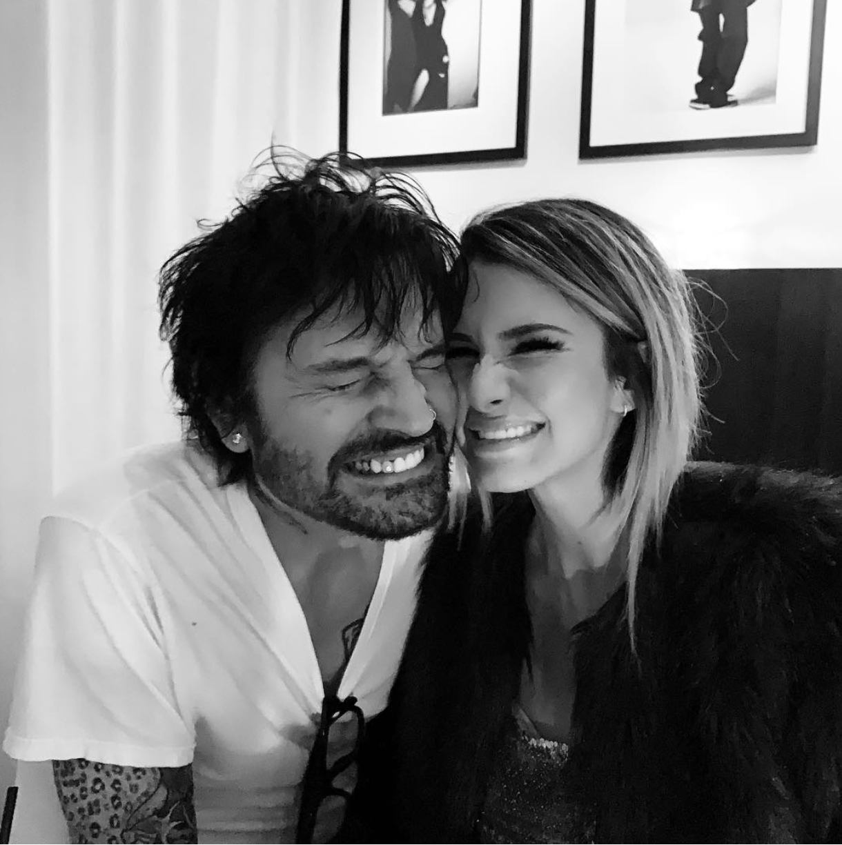 Tommy Lee And Brittany Furlan Tommy Lee Brittany Furlan Motley Crue