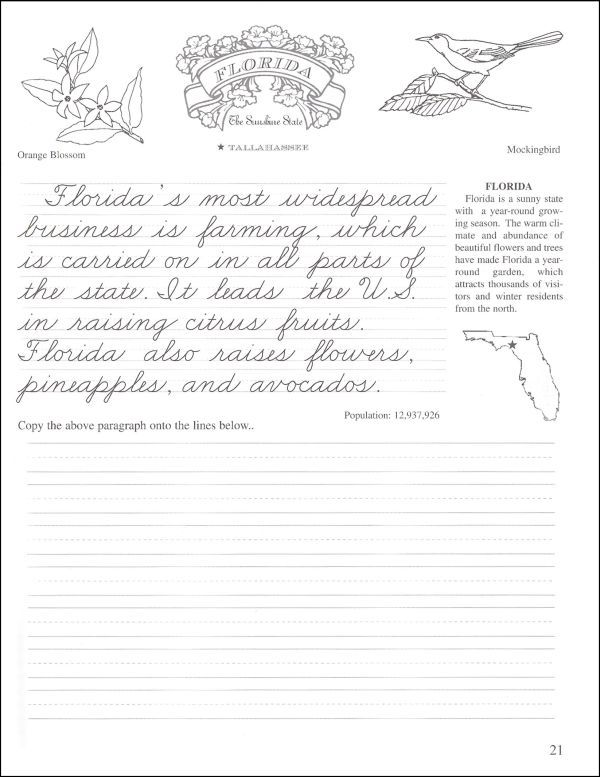 pentime cursive grade 4 bright cursive handwriting practice handwriting activities. Black Bedroom Furniture Sets. Home Design Ideas