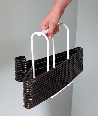 Set Of 3 Easy Storage Hanger Organizers