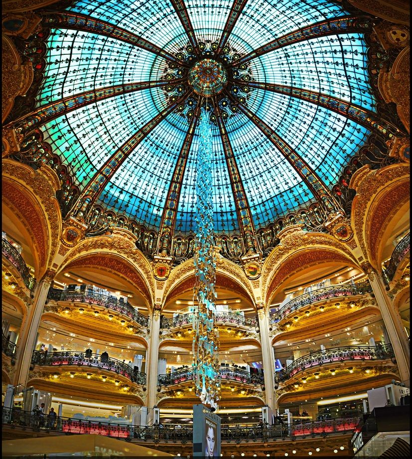 Galeries Lafayette Paris France We Loved It In Here A Women S Dream Lafayette Paris Galeries Lafayette Paris France
