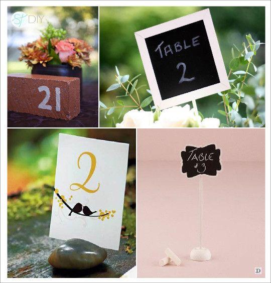 Noms De Table Mariage Présentation En Minéral Art De La Table - Porte nom mariage