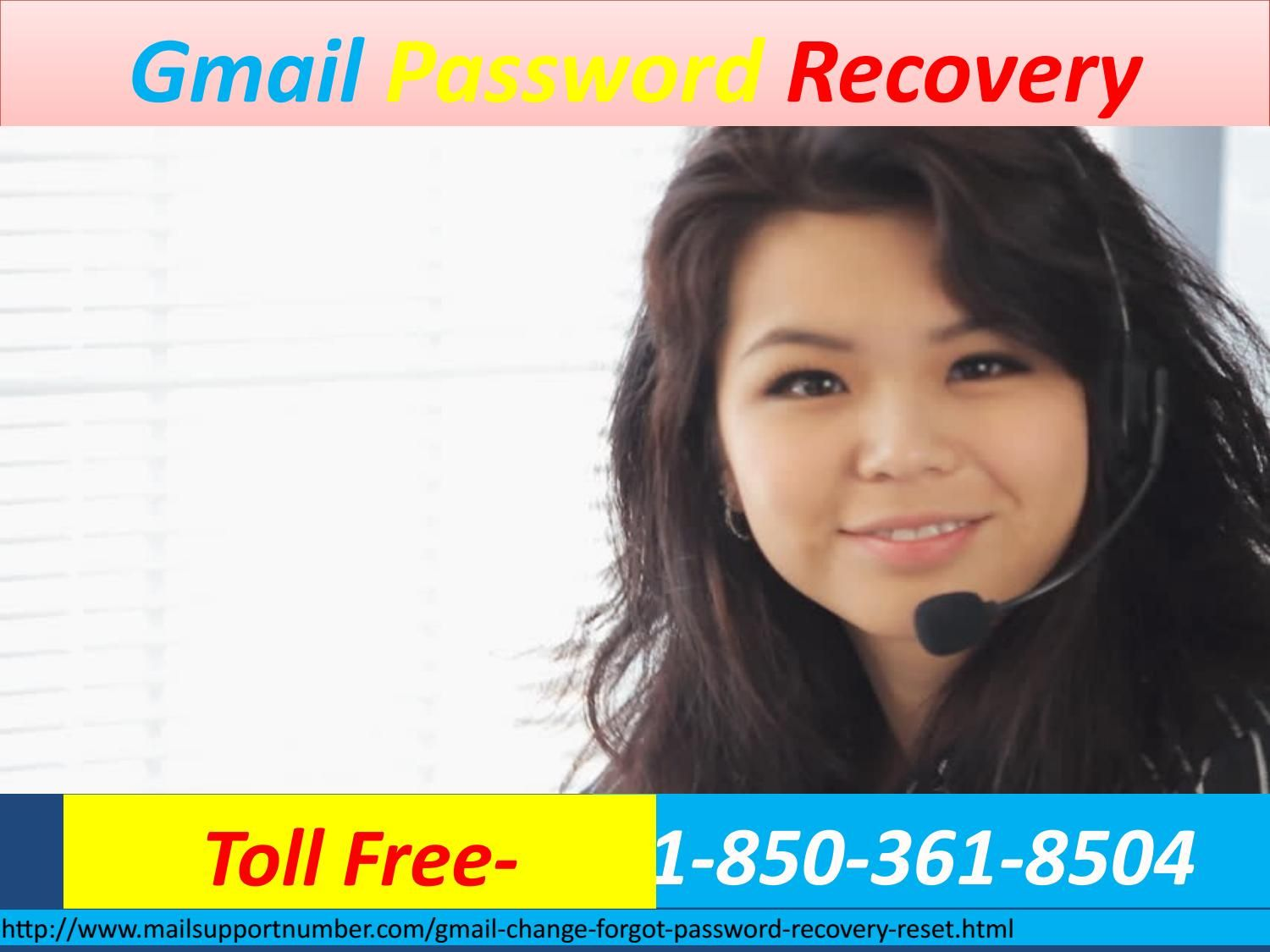 Why to avail gmail password recovery 18503618504