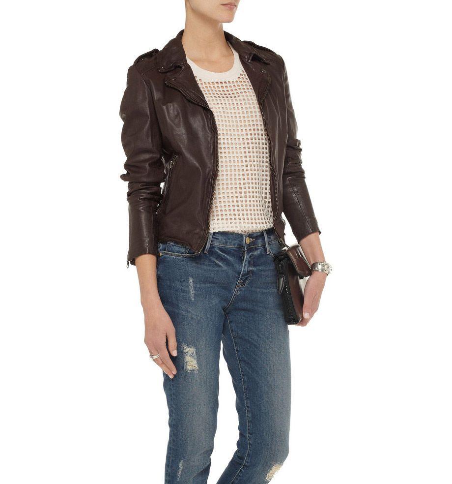 Women Biker Leather Jackets  Vinera 87c07901b4e