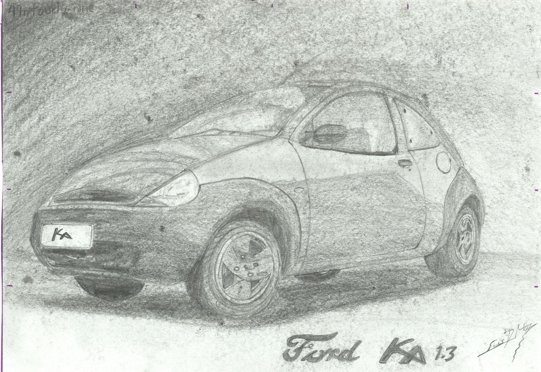 Ford Ka Mis Dibujos En 2019 Dibujos