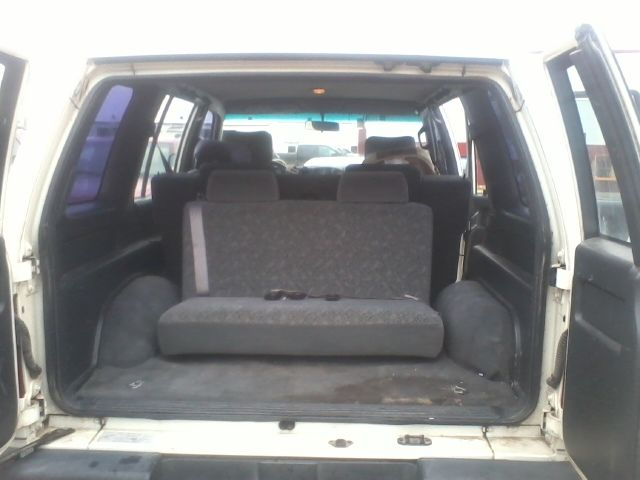 Third Row Seating For Trooper 1992 Isuzu Trooper 3 2 5 Speed 8