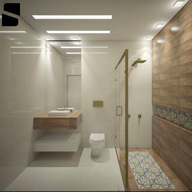 Extremamente Ladrilho hidráulico e porcelanato amadeirado Ceusa | banheiros  MB68
