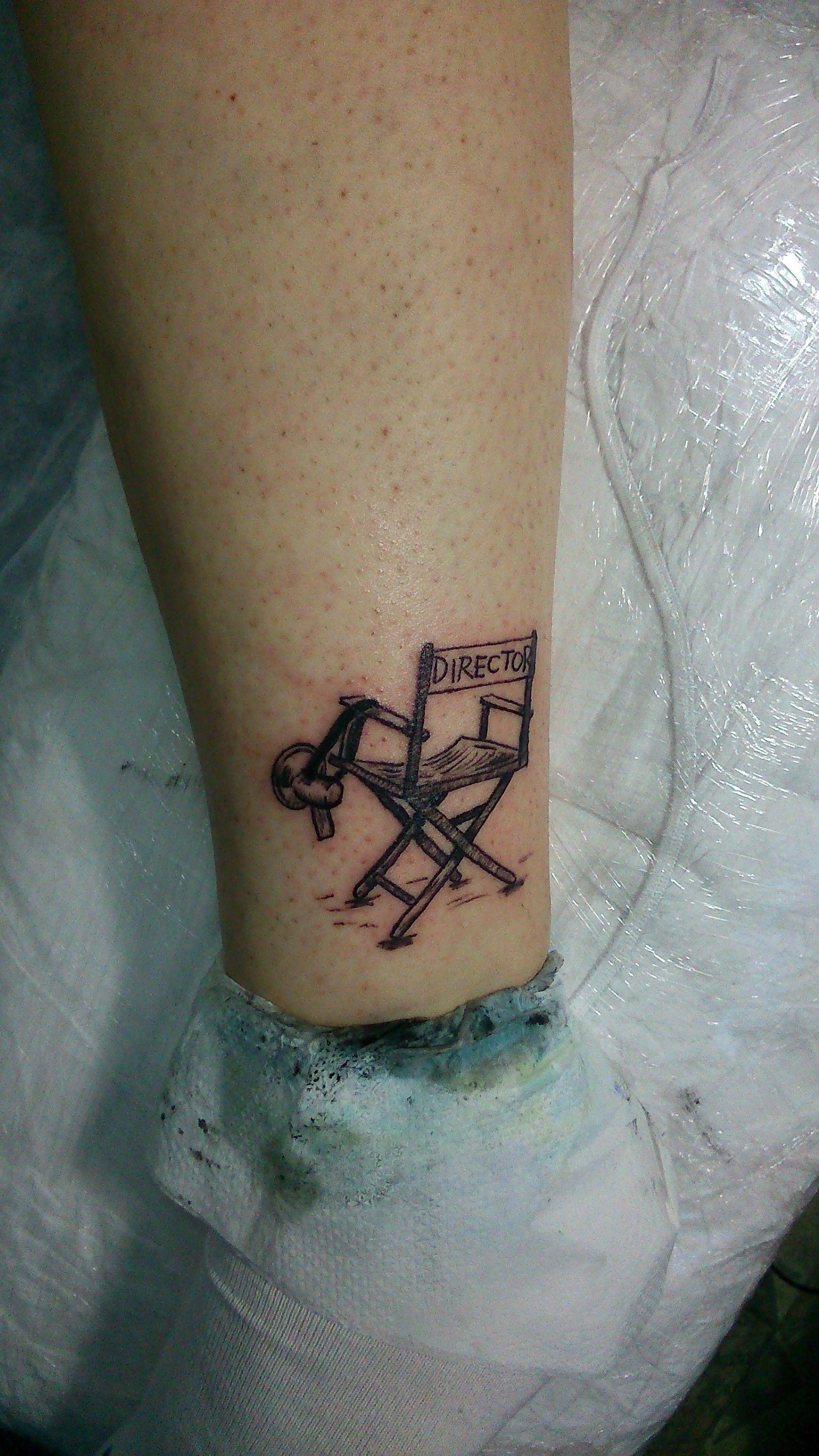 Director Chair Tattoo Simple Tattoo Minimal Tattoo Small Tattoos For Guys Ink Tattoo Minimal Tattoo