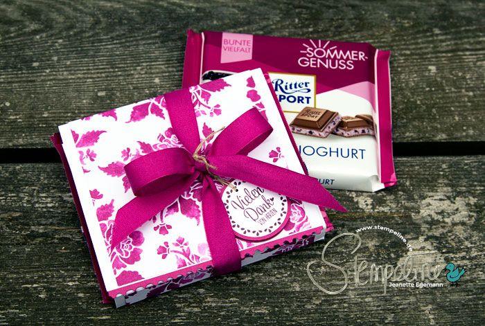 Ritter Sport Geschenkverpackung mit den Produkten von ...