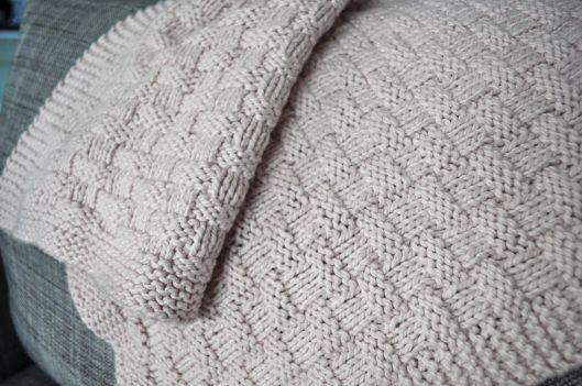 Basketweave Baby Blanket | Blanket, Free pattern and Stockinette