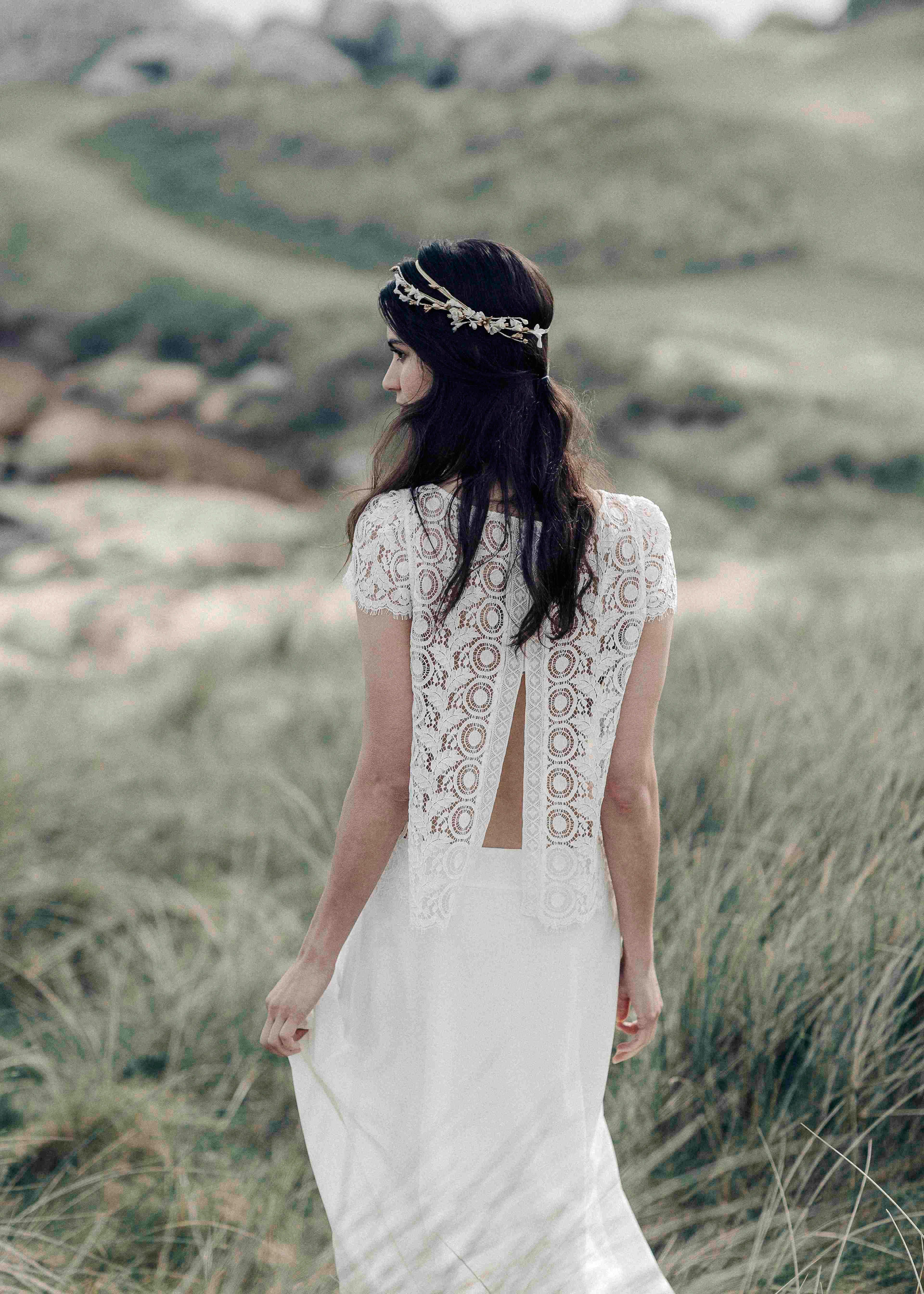 Laure de Sagazan Spring 2018 Wedding Dress Collection