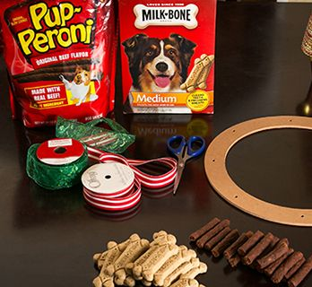 Dog Treat Wreath Decoration Petsmart Dog Treat Wreath Dog Treats Wreath Decor
