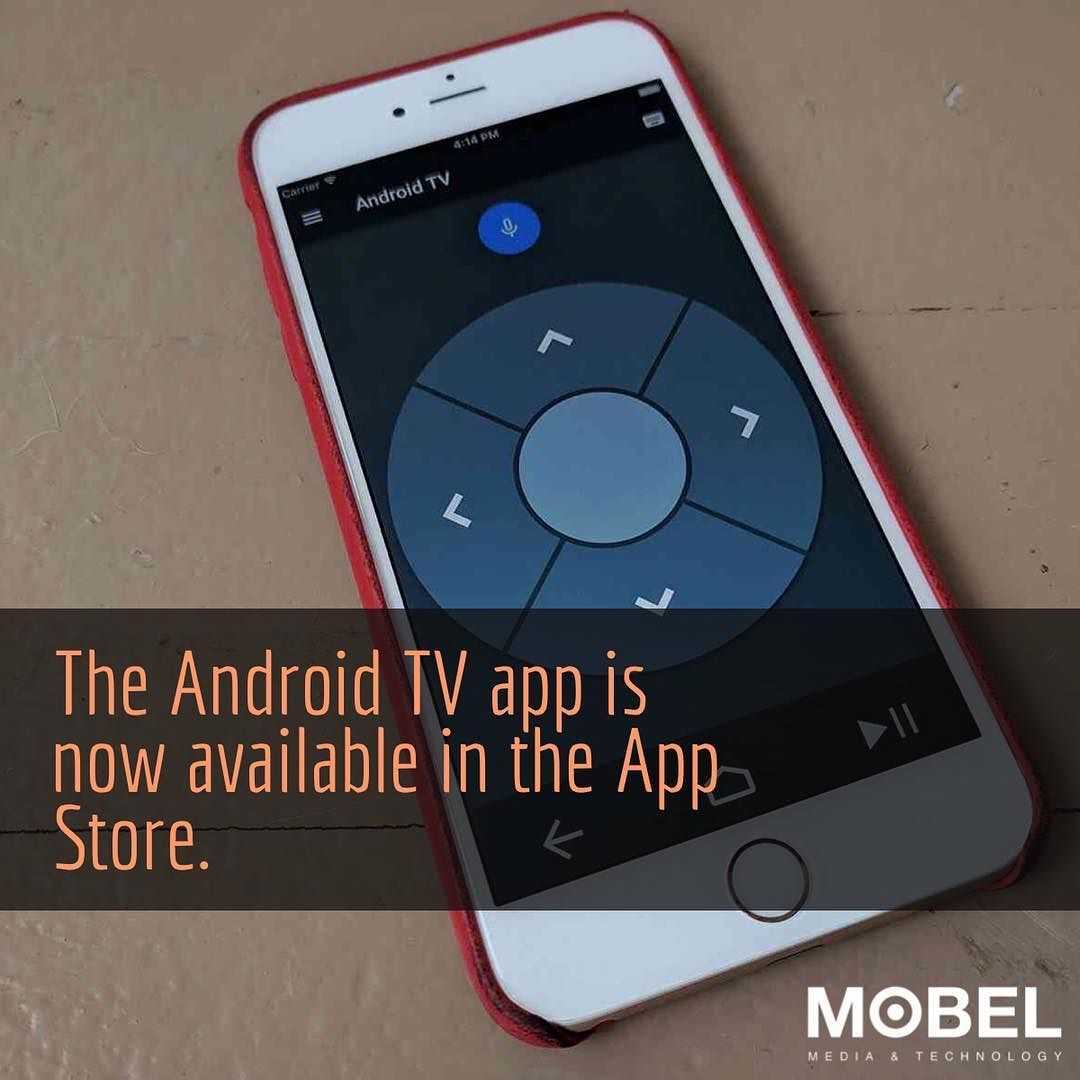 The Android TV app is now available in the App Store Use your iPhone as
