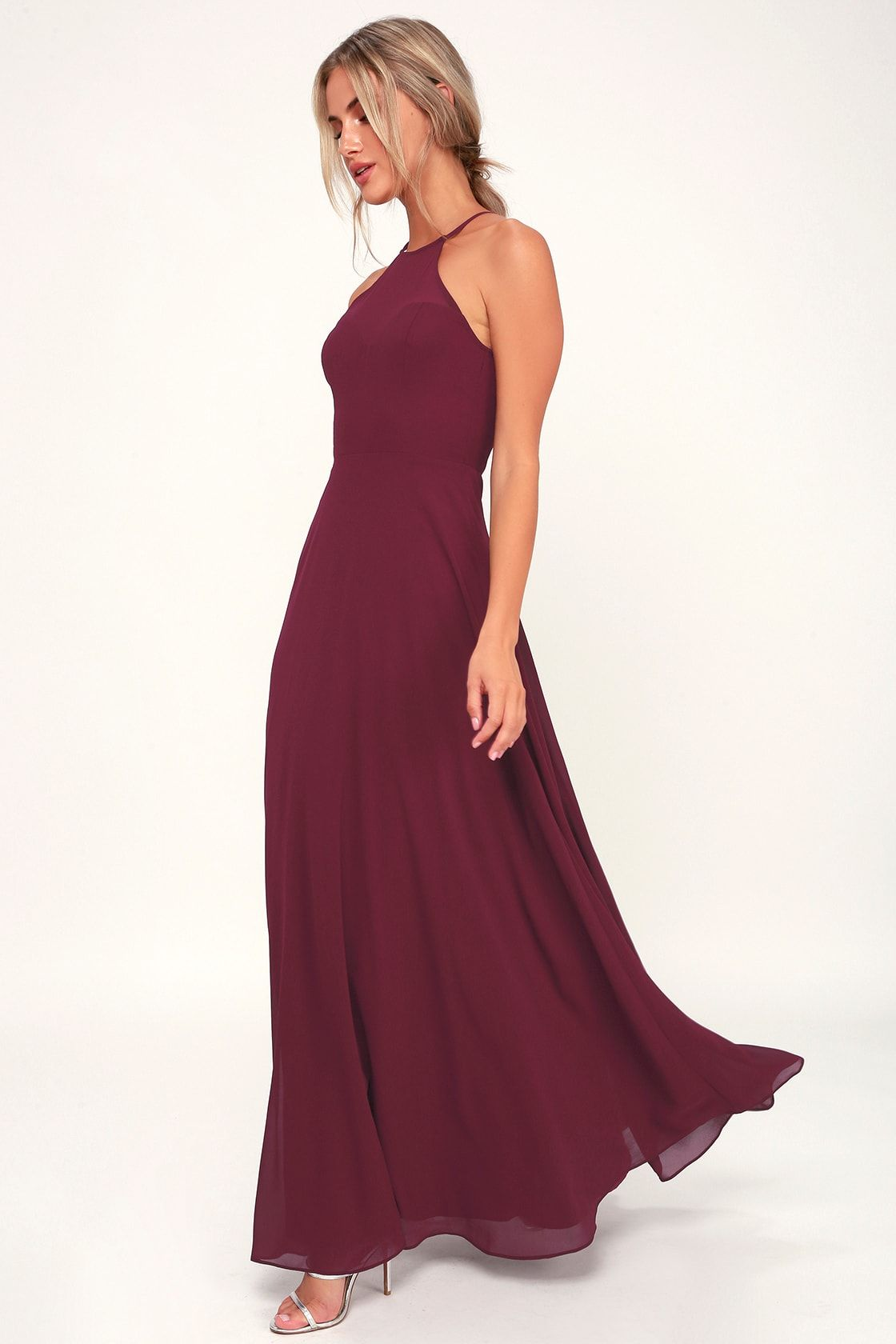 2a95d4e37c Burgundy Bridesmaid Dresses Lulus