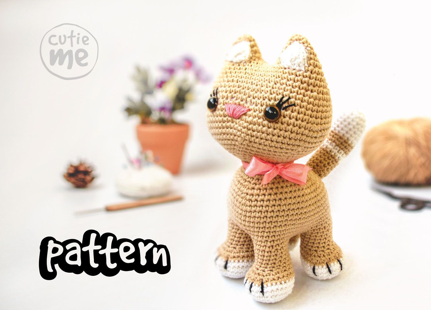 Free crochet cat pattern - Amigurumi Today | 1080x1500