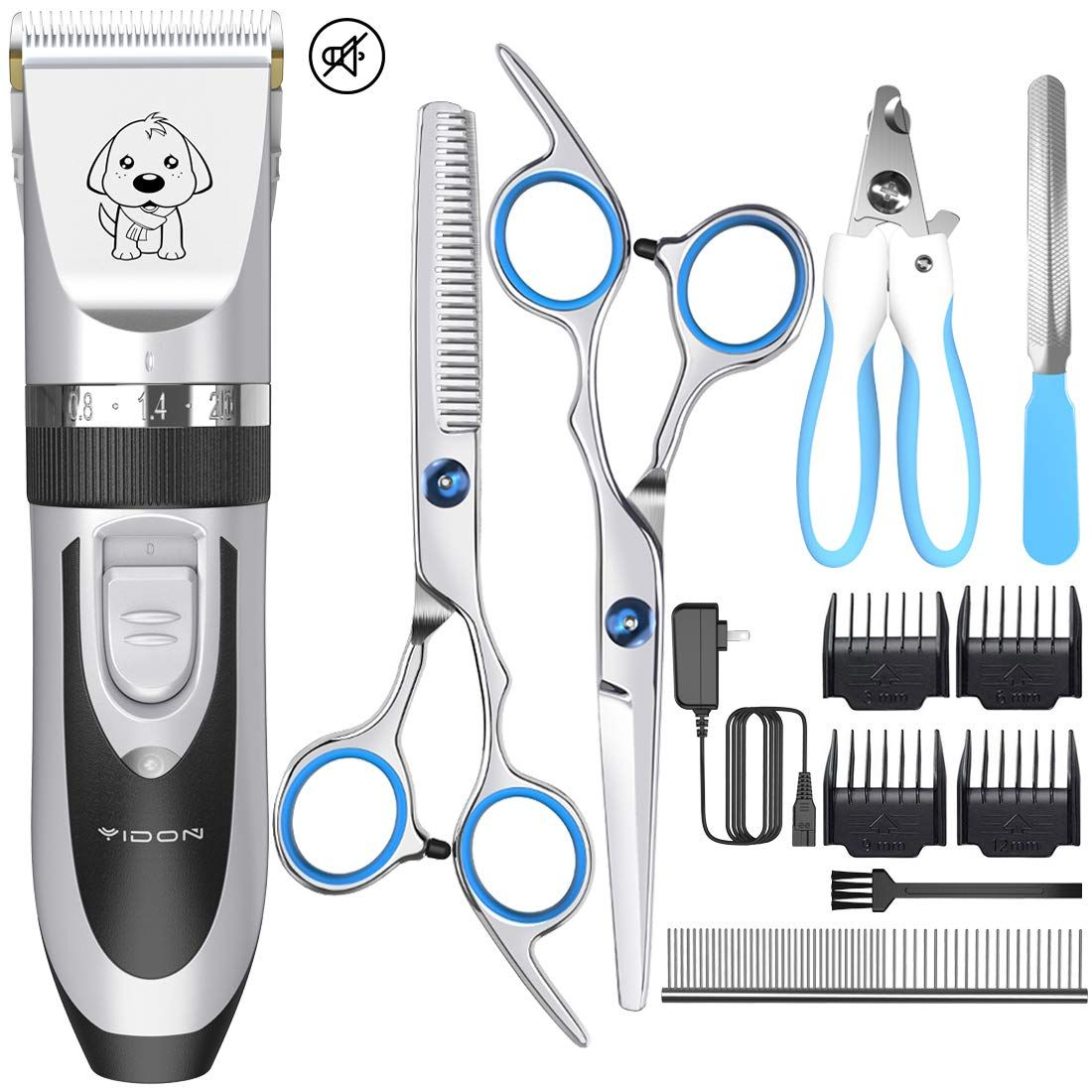 HATTEKER Dog Grooming Clippers Cordless Pet Hair Clippers