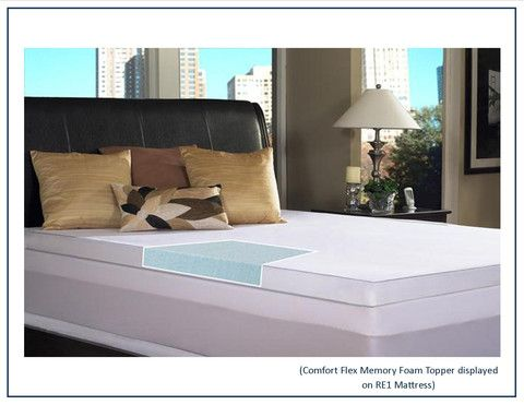 Comfort Flex Memory Foam Mattress Topper Rest Essentials Our Son