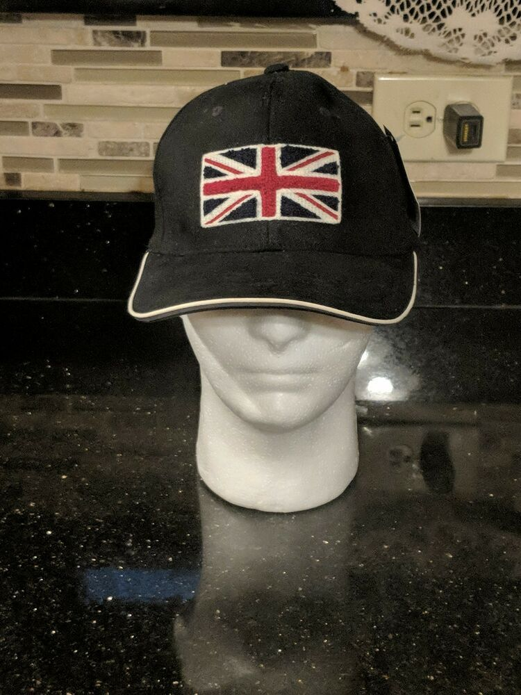 23bb4a1f1d847 Old Style REEBOK Hat Cap Union Jack Royal Union Flag NWT Flexfit  fashion   clothing