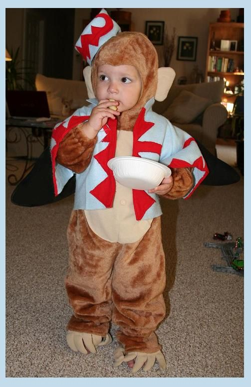 Grandson Phoenix [back in 2008 when he was 22 months old] in homemade Flying Monkey costume. I started with a simple monkey costume pattern using brown ...  sc 1 st  Pinterest & Grandson Phoenix [back in 2008 when he was 22 months old] in ...
