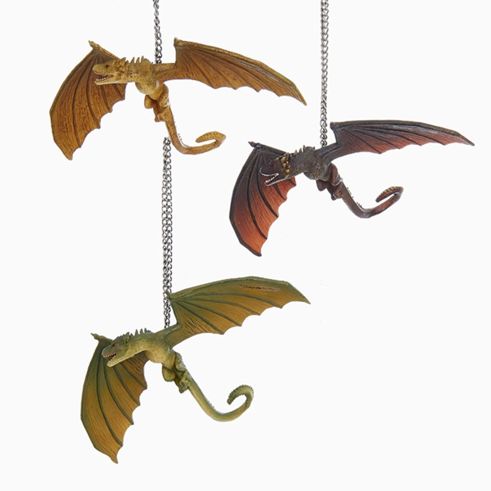 Game Of Thrones Dragon Ornaments 3 Assorted Game Of Thrones Dragons Game Of Thrones Christmas Game Of Thrones Tree