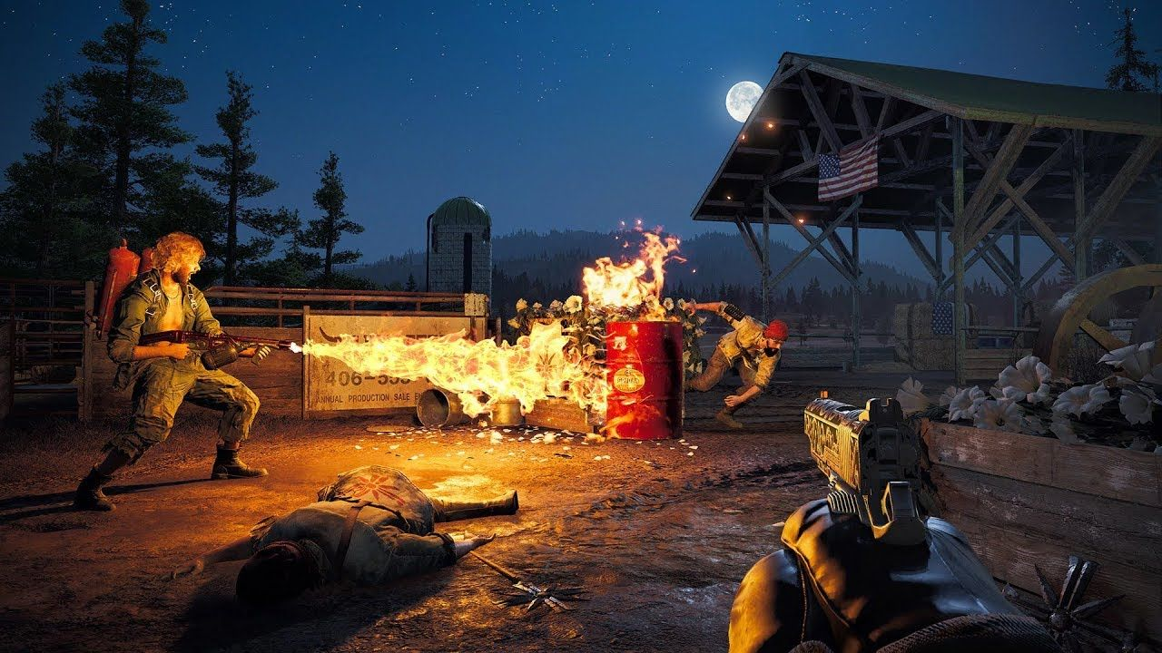 Far Cry 5 Complete Pc Gameplay Walkthrough Playing With Fire