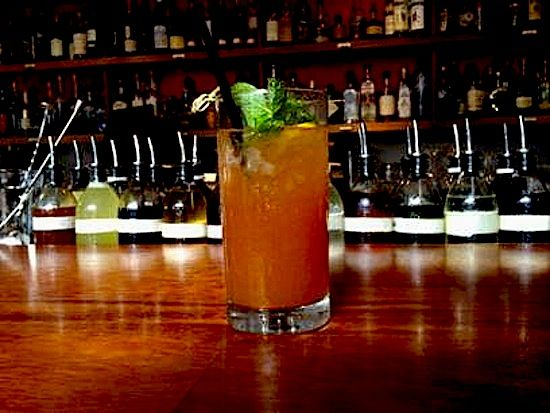 1940's Zombie Cocktail at the Tasting Kitchen