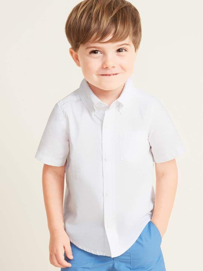 Uniform Oxford Shirt for Toddler Boys in 2019 | White short