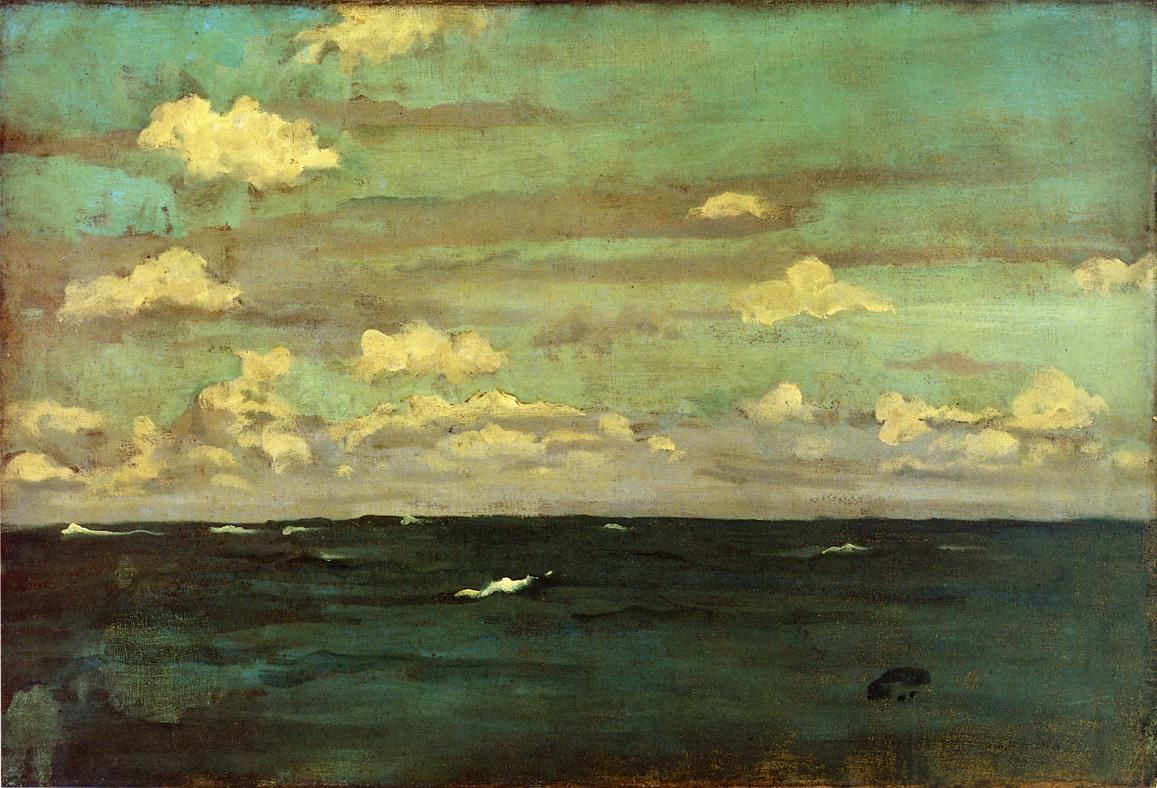 Nocturne Whistler The Silent Sea fine art giclee print various sizes