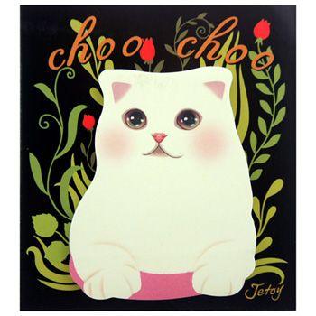 Choo Choo Kitty Memo Pad