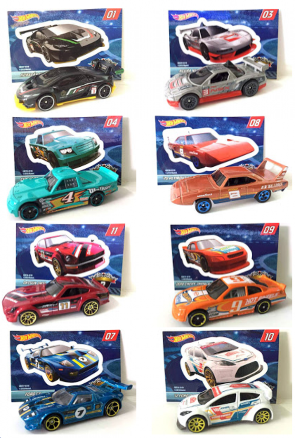 Hot Wheels Mystery models ford fiesta nuevo