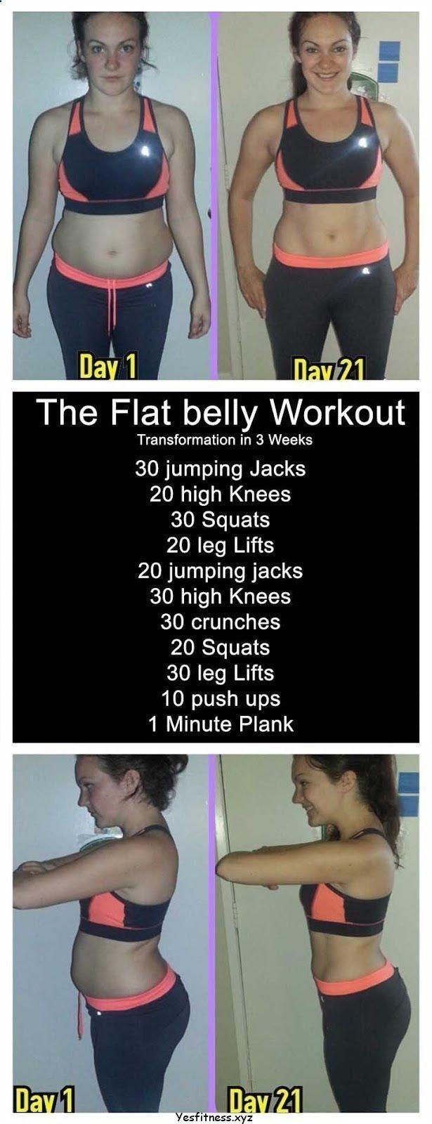 Bauchfett-Training - Das flache Bauch-Training, und wenn Sie mit Fettleibigkeit zu kämpfen haben #quickfitness