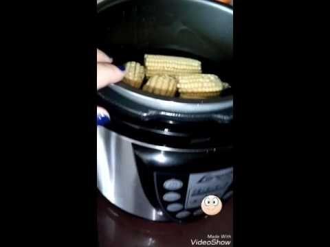 Milho Na Panela De Pressao Eletrica Youtube Com Imagens