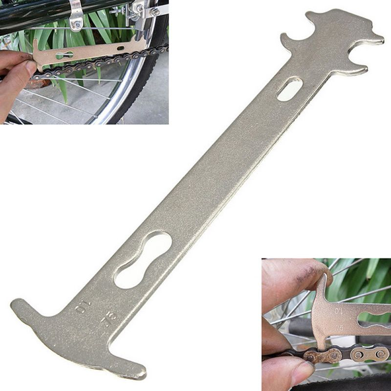 Bicycle Chain Checker Mountain Road Bike MTB Chains Gauge Measurement Ruler New